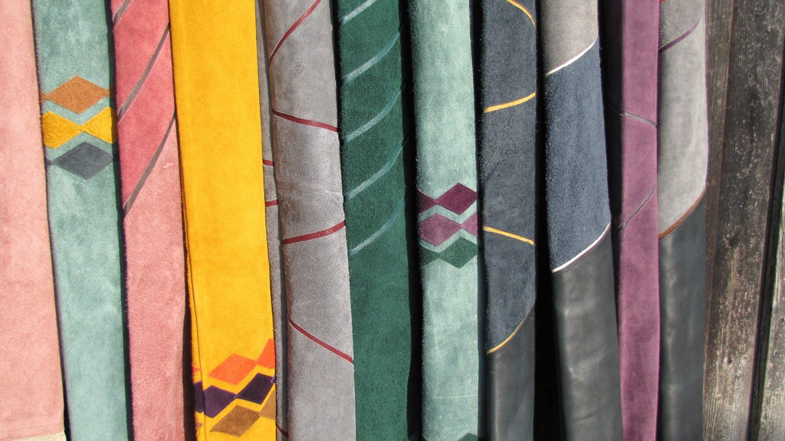 Mind-Factor Bogentaschen aus echtem Leder mit kurzer Lieferzeit