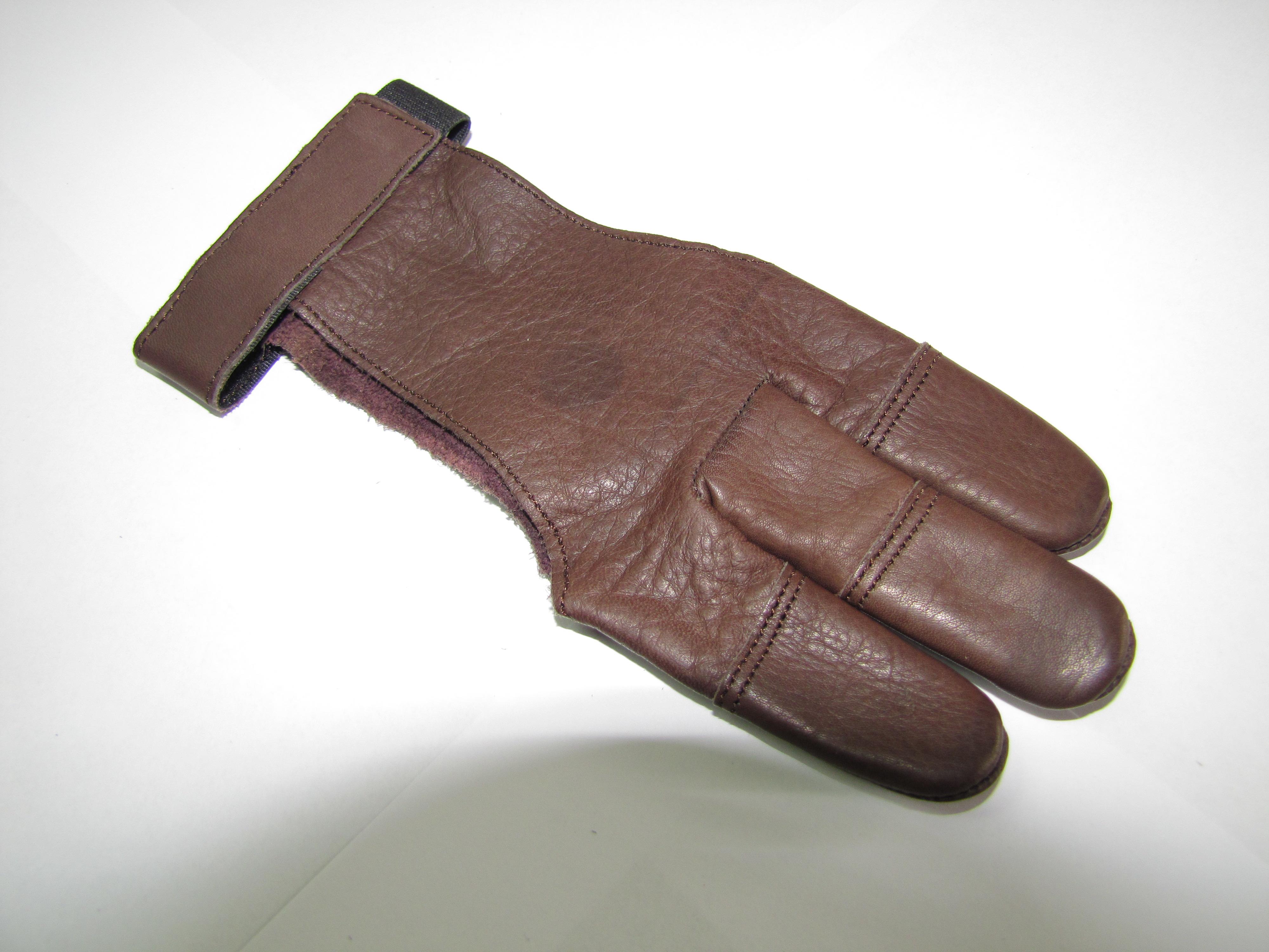 Mind-Factor Bogensport, 3-Finger-Handschuh 002