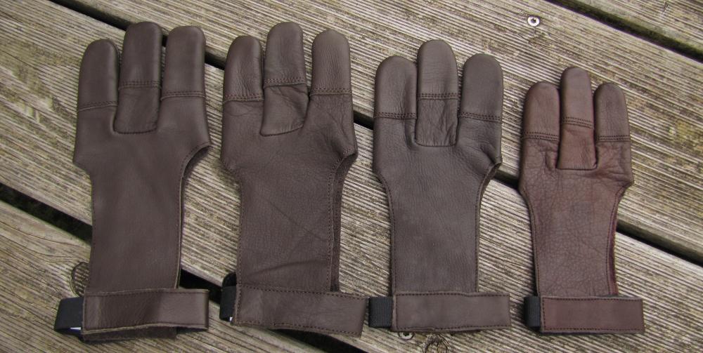 3-Finger Handschuh