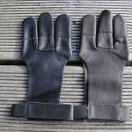 Mind-Factor Bogensport 3-Finger Schießhandschuh _10