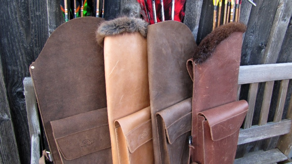 Mind-Factor Back Quiver with Pocket_smooth leather