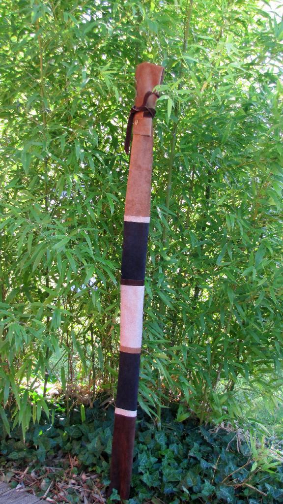 Mind-Factor Bogentasche Bogenhülle aus Leder für Langbogen oder Recurve
