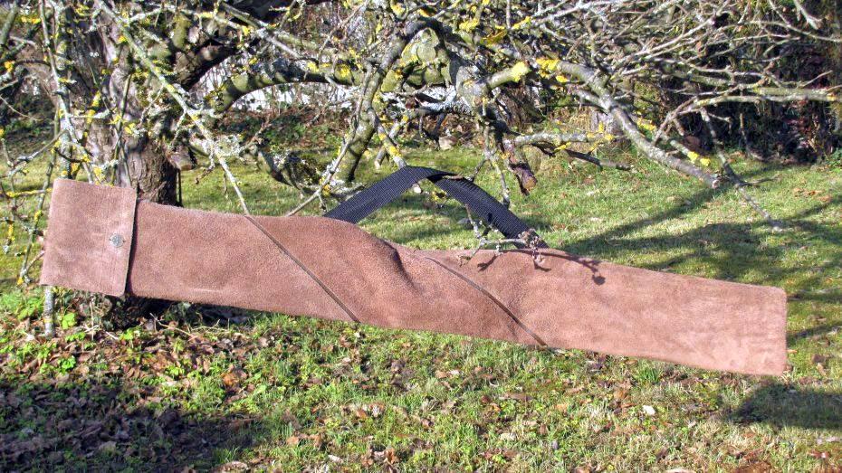 Mind-Factor Bogentasche für kurze Recurve aus echtem Leder, 95 €