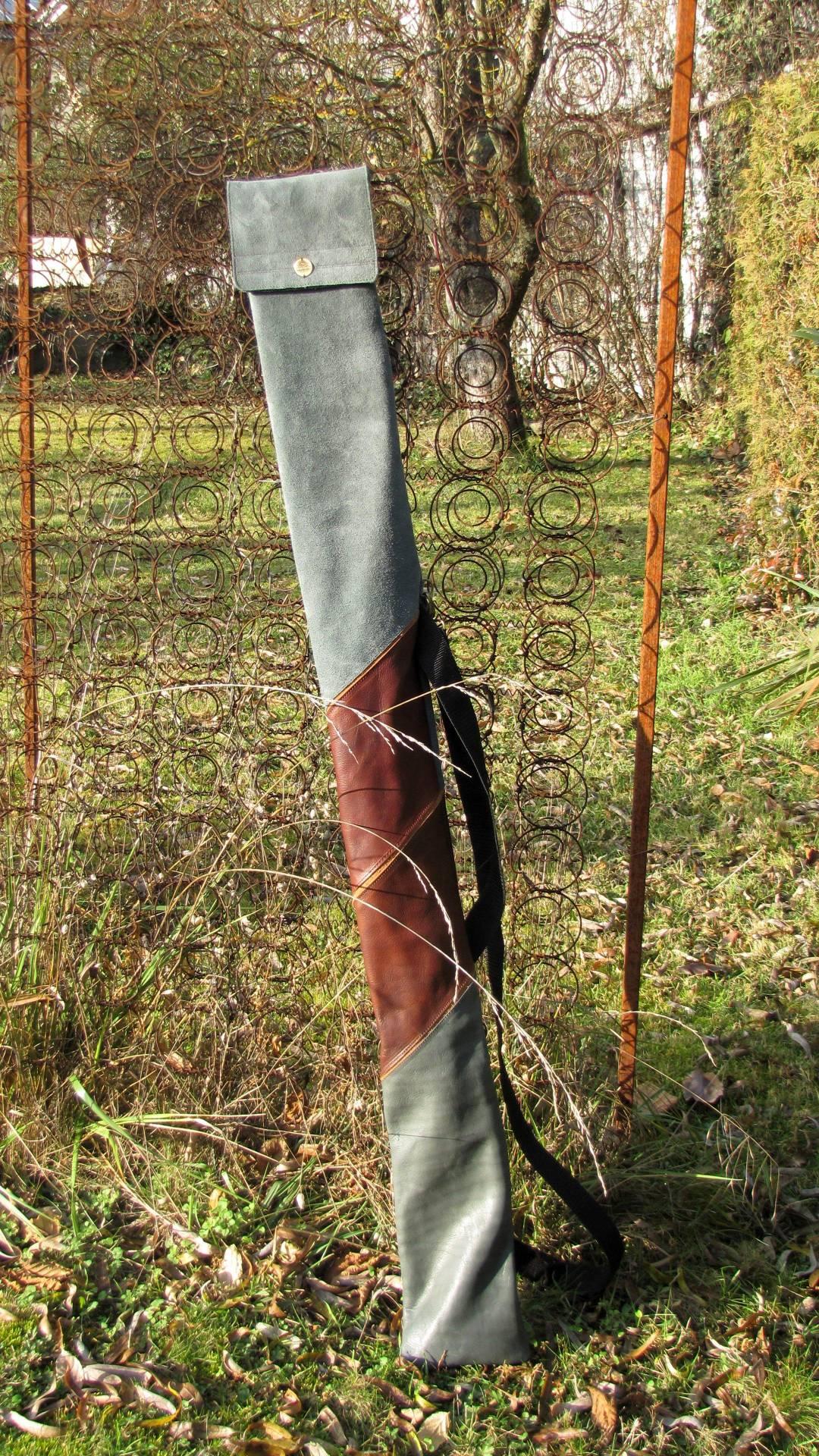 Mind-Factor Bogentasche für Recurve aus echtem Leder, 130 €
