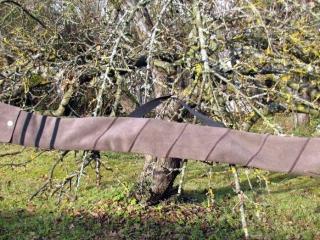 Mind-Factor Bogentasche für unterschiedlich lange Recurve aus echtem Leder, 110 €