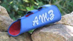 Mind-Factor Bogensport - Armschutz mit 3 Initialen