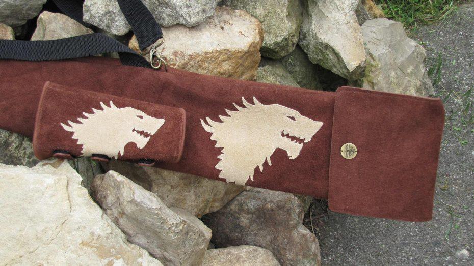 """Modell 6.a: Wolfskopf """"House of Stark"""", Aufwand 20 € extra"""