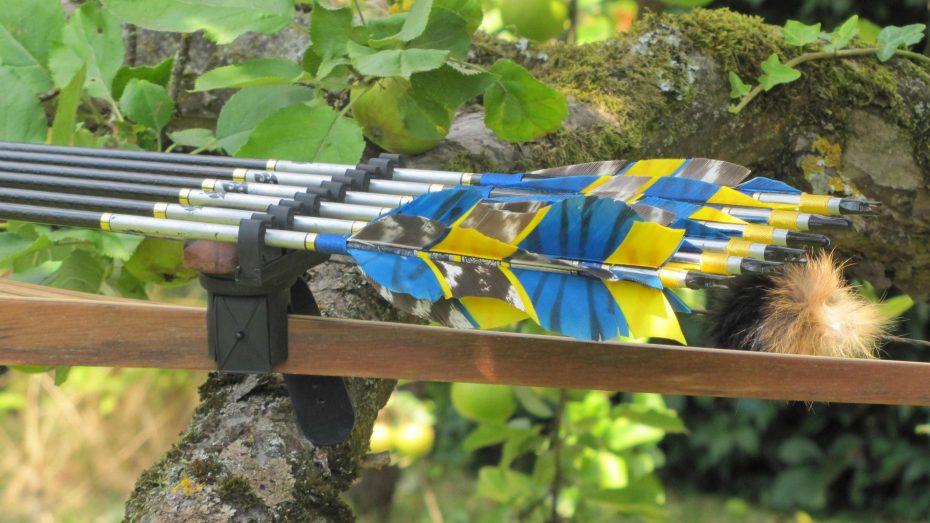 custom Bogenköcher mit Mind-Factor GW1