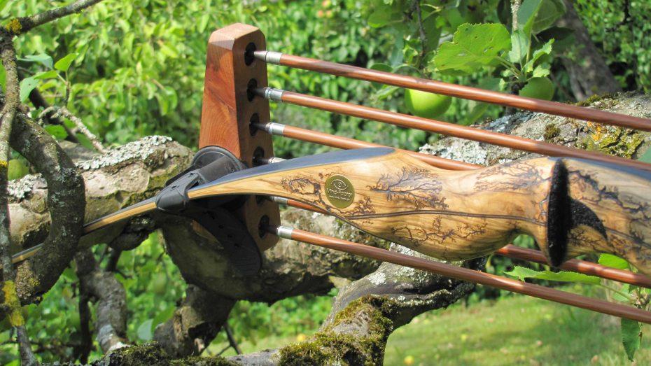 custom Bogenköcher mit Mind-Factor Wuidara3