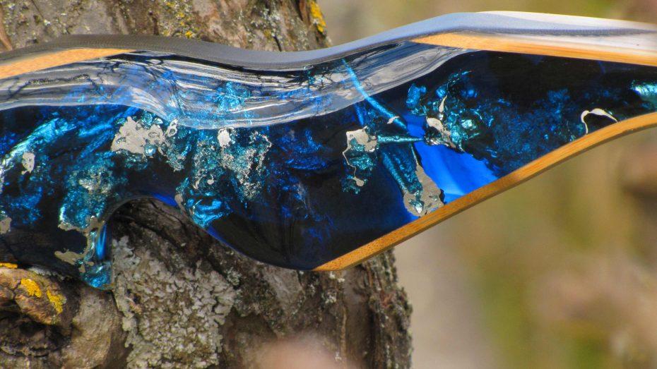 Mind-Factor FOCUS Recurve Wuidara Silvermine Deep Blue 4319_5