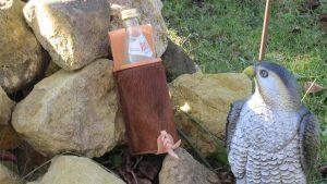 Mind-Factor Bogensport - Flaschenhalter Natur mit Fell_6