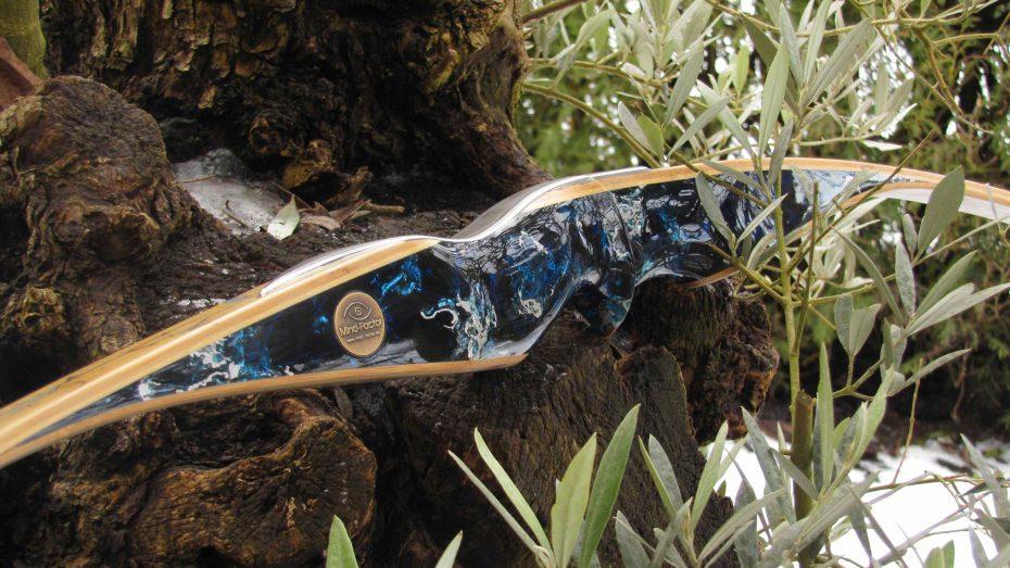 Mind-Factor FOCUS Langbogen Wave-S Silvermine Deep Blue 1121_1