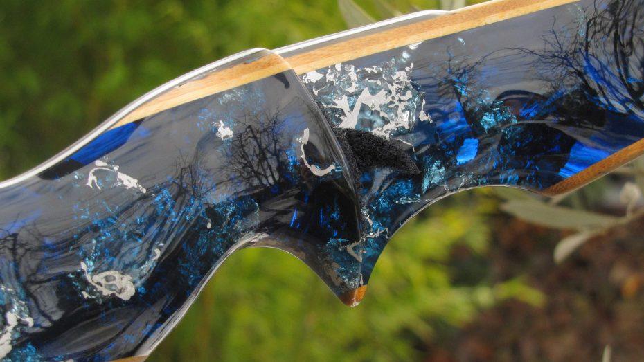Mind-Factor FOCUS Langbogen Wave-S Silvermine Deep Blue 1121_4