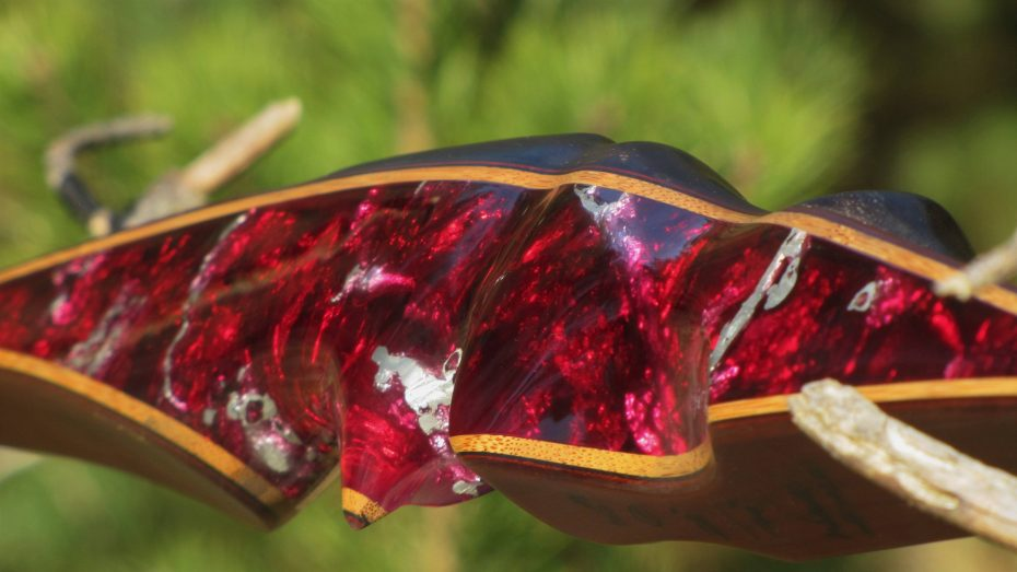Mind-Factor FOCUS Langbogen Wave Silvermine red 10221_11