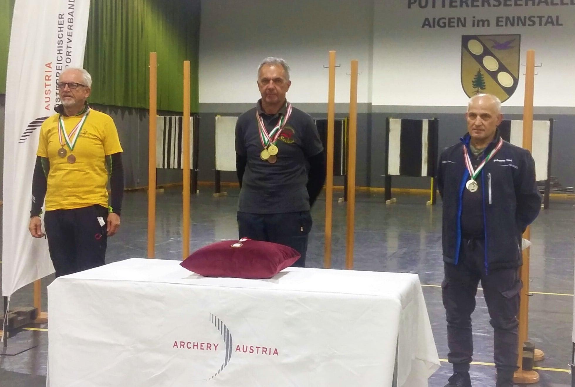 Fritz Kranz, Bogensportverein Seckau, Gold bei der Österreichischen Meisterschaft IFAA 2021