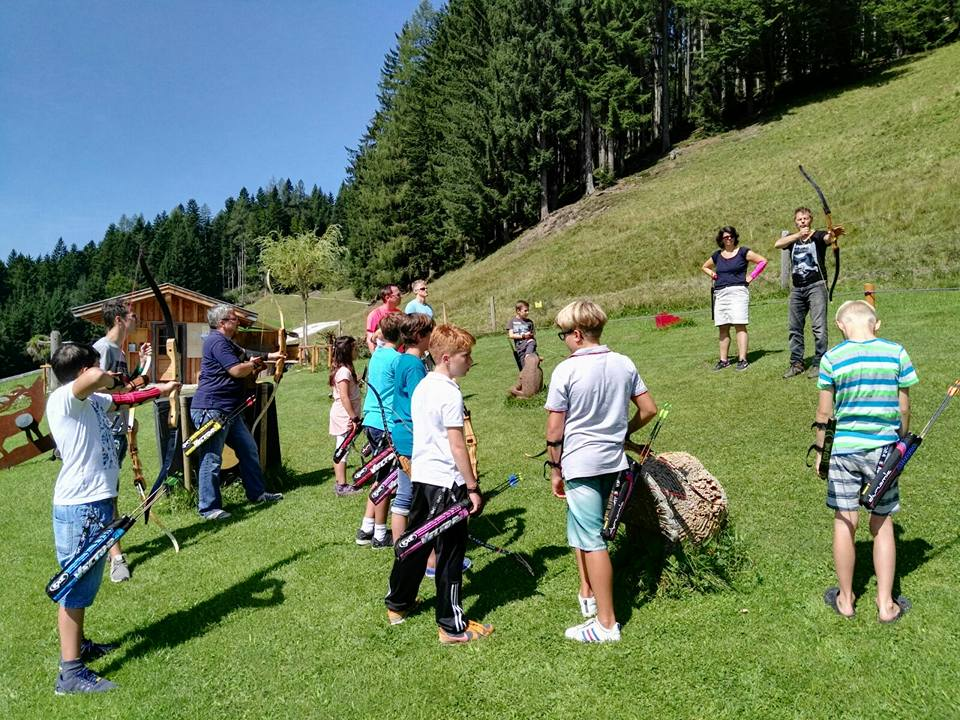 Schosi 3D Parcours, Leogang, im Sommer